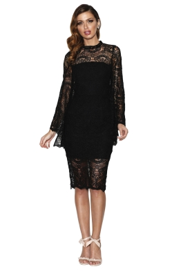 Grace & Hart - Majestic Dress - Black - Front