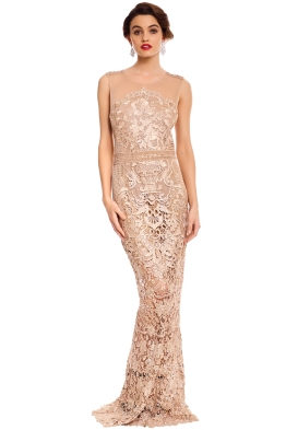 Grace and Hart - Renaissance Gown - Blush - Front