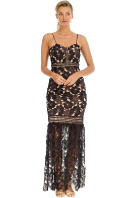 Grace and Hart - Serene Gown - Black - Front