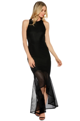 Grace and Hart - Stand Alone Gown - Black - Front