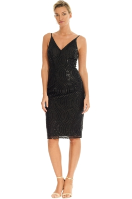 Grace and Hart - Tales and Spirits Midi Dress - Black - Front