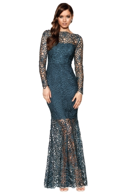 Grace & Hart - Scandal Gown - Teal - Front