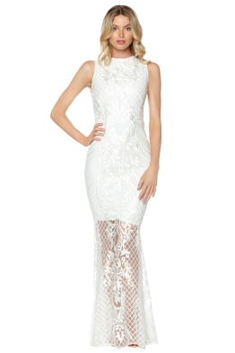Grace & Hart - Ignite Passion Gown - White - Front