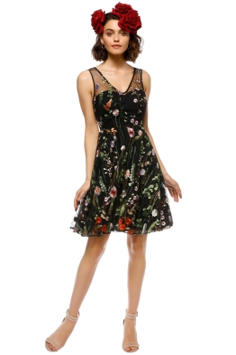 Grace and Hart - Wu You Fit n Flare - Fantasy Black - Front