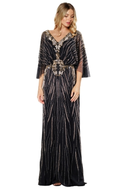 Grace and Blaze - Opera Gown - Black - Front