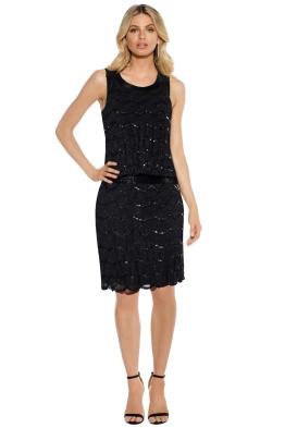 Grace & Blaze - Ritz Dress - Black - Front