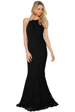 Grace & Hart - Allure Gown - Black - Front