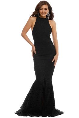 Grace & Hart - Embrace Gown - Black - Front