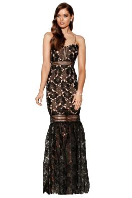 Grace & Hart - Serene Gown - Black - Front