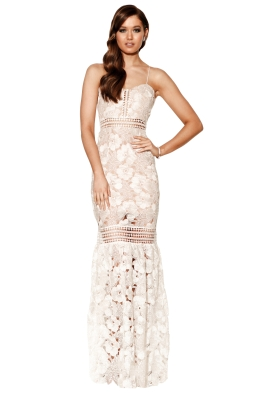 Grace & Hart - Serene Gown - Ivory - Front
