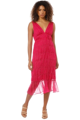 Hansen and Gretel - Ursula Dress Amaranth - Pink - Front
