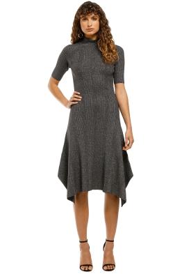 Husk-Glitter-Knit-Dress-Grey-Front