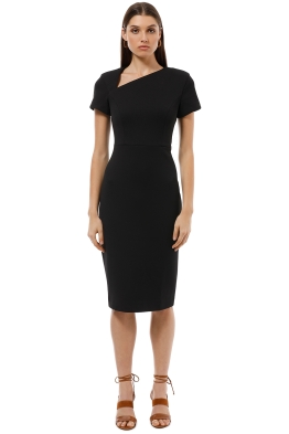 Elliatt - Astral Dress - Black - Front