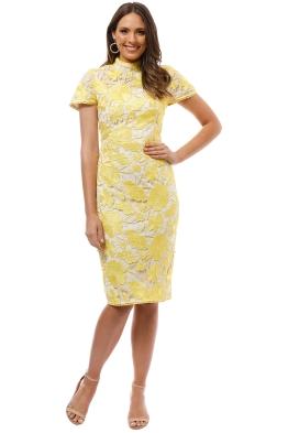 Grace and Hart - Primrose Midi Dress - Yellow - Front
