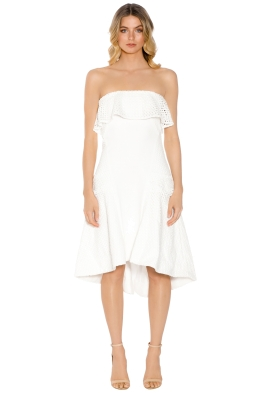 Elliatt - Belle Dress - White - Front