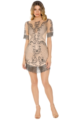 Madame X - Nora Dress - Nude - Front