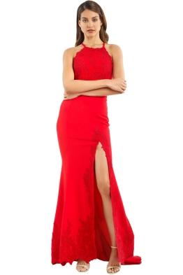 Jadore - JX053 - Serena Gown - Red - Front