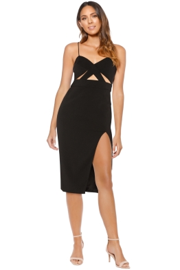 Jay Godfrey - 101333 Roper Dress - Black - Front