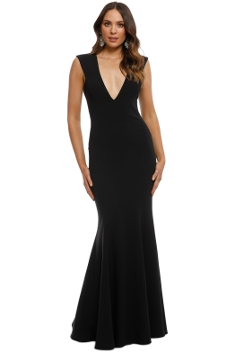 Jay Godfrey - Victoria Light Dress - Black - Front