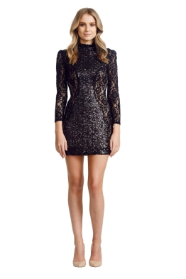 Jayson Brunsdon - Opulent Dress - Black - Front