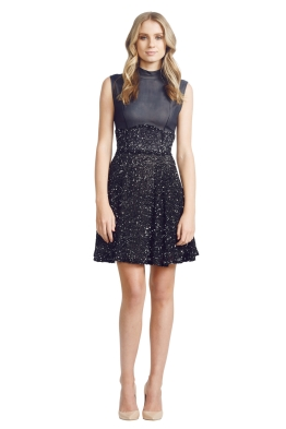 Jayson Brunsdon - Waltz Dress - Front - Black