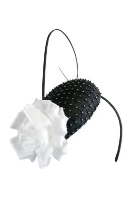 Morgan & Taylor - Jennifer Fascinator - Front