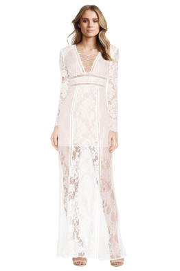 The Jetset Diaries - Caribbean Maxi Dress - Front - White