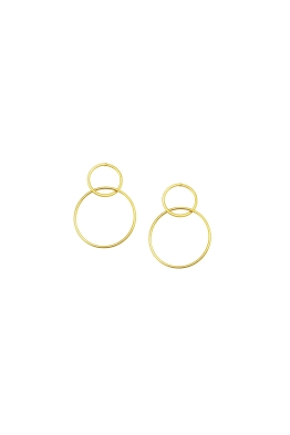 Jolie and Deen - Dale Earrings - Gold - Ghost Front