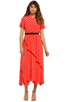 Kate-Sylvester-Nan-Dress-Poppy-Pink-Front