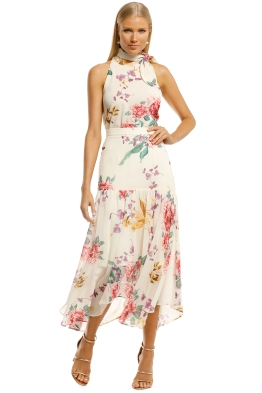 Keepsake-the-Label-About-Us-Top-and-Skirt-Set-Creme-Botanic-Floral-Front