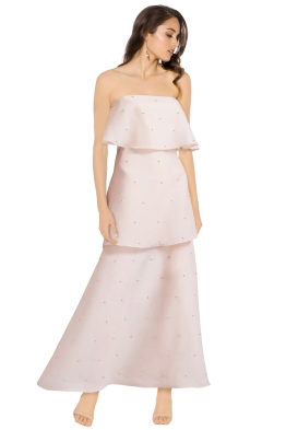 Keepsake - Call Me Gown - Blush - Front