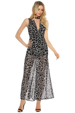Keepsake the Label - Come Around Jumpsuit - Dark Ivy - Front