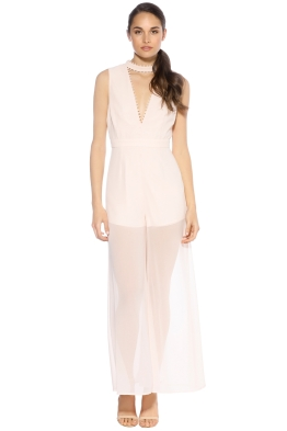 Keepsake - Come Around Jumpsuit Shell - Front - Pink