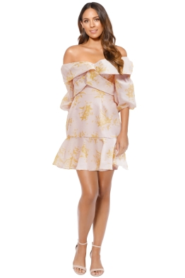 Keepsake the Label - Stand Tall Dress - Blush - Front