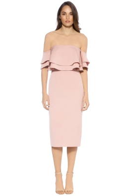 Keepsake the Label  - Two Fold Dress - Front - Pink