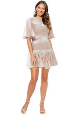 Keepsake The Label - All Mine Mini Dress - Blush - Front