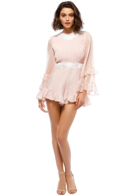 Keepsake The Label - All Mine Playsuit - Blush Pastel - Front