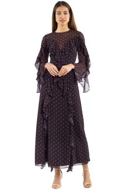 Keepsake the Label - Better Days Gown - Black - Front