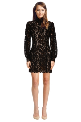 Keepsake the Label - Let It Happen Long Sleeve Dress - Front