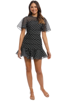 Keepsake the Label - Limits Mini Dress - Black - Front