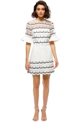 Keepsake the Label - No Promises Mini Dress - Ivory - Front