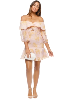 Keepsake the Label - Stand Tall Dress - Blush Floral - Front