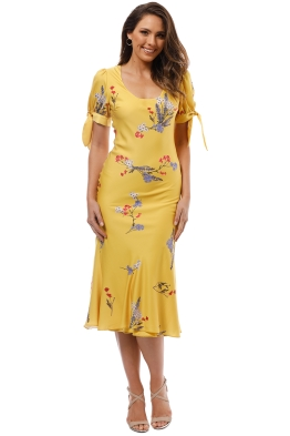Keepsake the Label - Hurricane Slip Dress - Yellow - Front