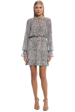 Kookai - Hyena Mini Dress - Print - Front