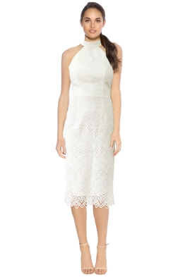 L'amour - Marisol Lace Midi Dress - White - Front.jpg