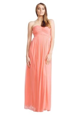 Langhem - Mona Lisa Gown - Front - Pink
