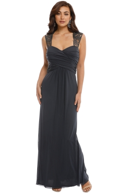 Langhem - Monet Gown - Grey - Front