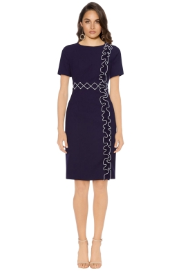 Leo and Lin - Fresh Junior Line Dress - Navy - Front