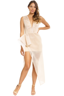 Lexi - Prana Dress - Champagne - Front