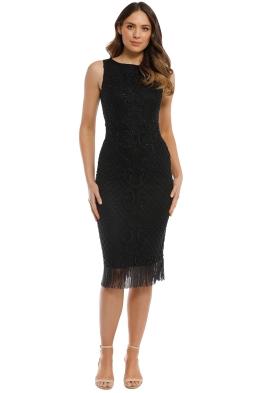 Madame X - Kimani Dress - Black - Front